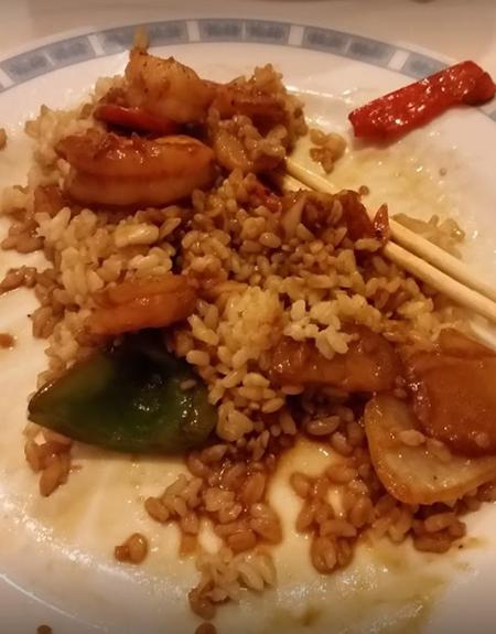 china joy - garlic shrimp with peppers